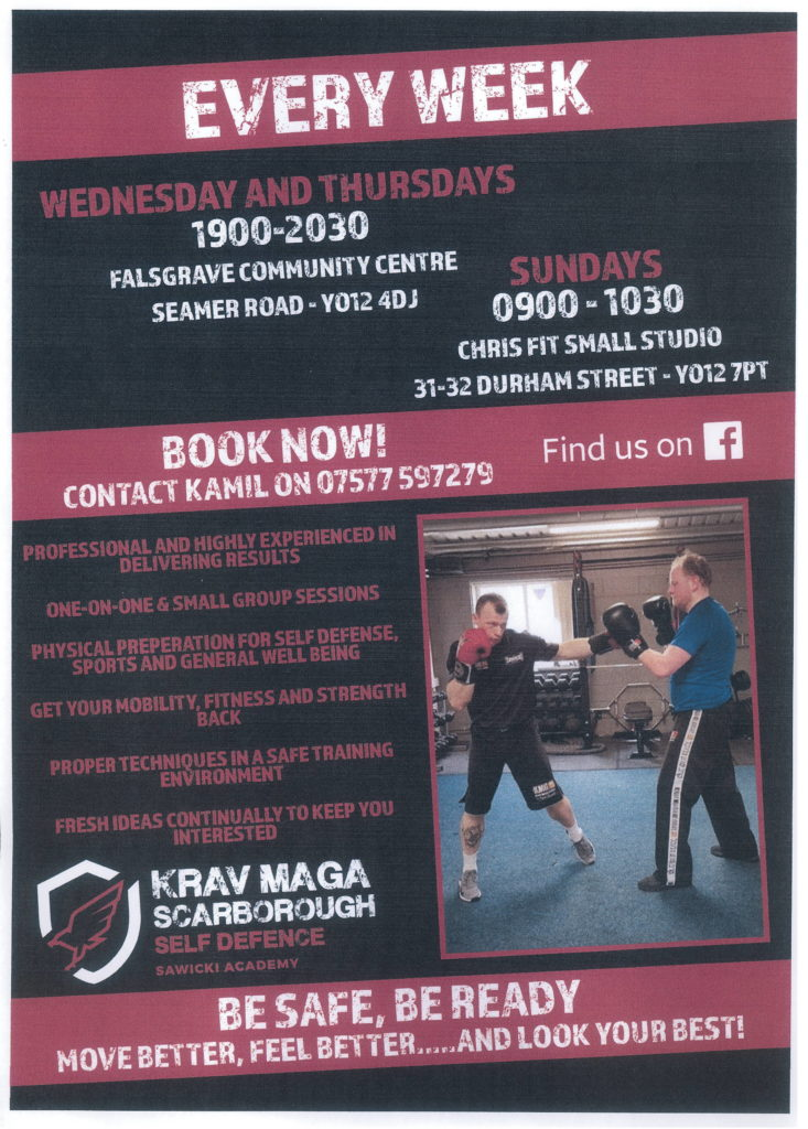 KRAV MAGA - Self Defense Classes @ Falsgrave Community Resource Centre