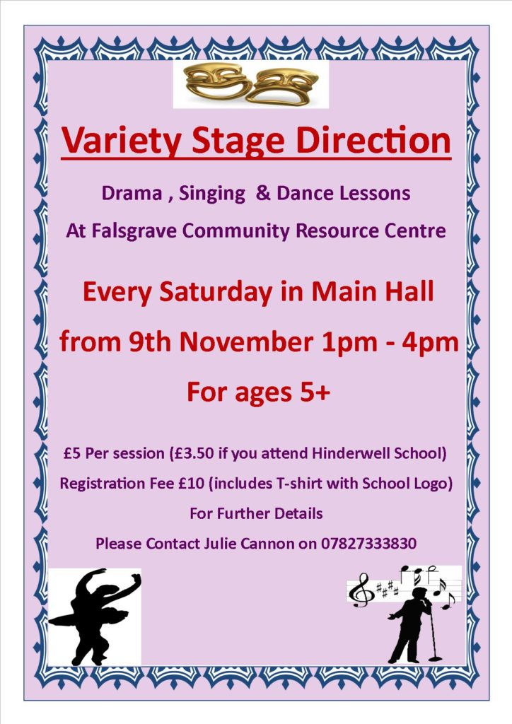 New Variety Stage Direction - Drama, Singing and Dance Lessons @ Falsgrave Community Resource Centre